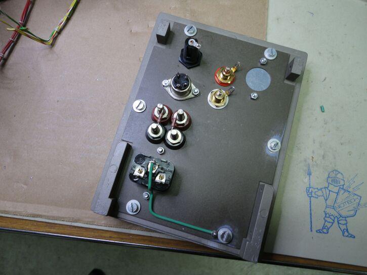 303 Amp Backplate