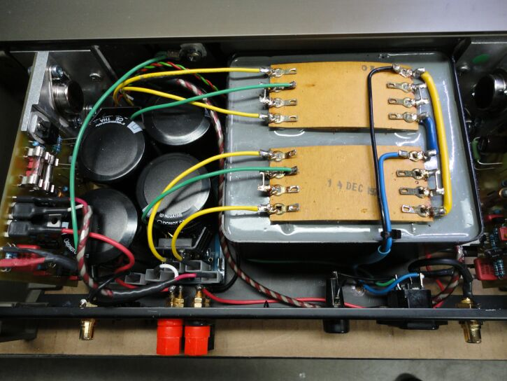 405 Power Amp with Dual Mono Power Supplies